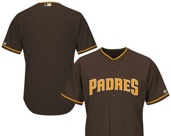 Mens San Diego Padres Custom Name   number Cool Base Baseball Jersey a0dee394a