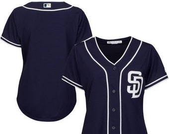 Women San Diego Padres Custom Name   number Cool Base Baseball Jersey 96049b35d