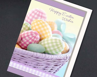 Easter Wishes, Easter Cards, Happy Easter Cards, Pastel Easter Card, Digital Cards, Printable Cards, Greeting Cards, Pretty Greeting Cards