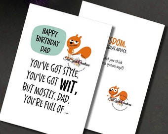 Dads Birthday Card Fathers Cards For Dad Him Digital Greeting Printable