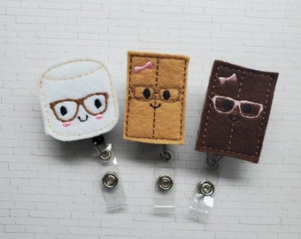 Pivot commode badge reel retractable holder clip April fools day bff or manager gag gift friends gifts ADLs instructor gift best butt wiper