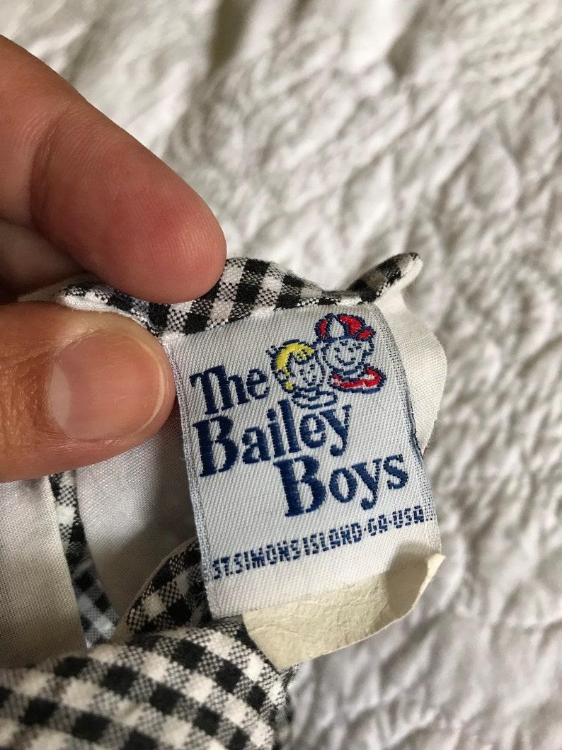Baby Boy Baseball Vintage Short John John The Bailey Boys 1980 Boys 18 months