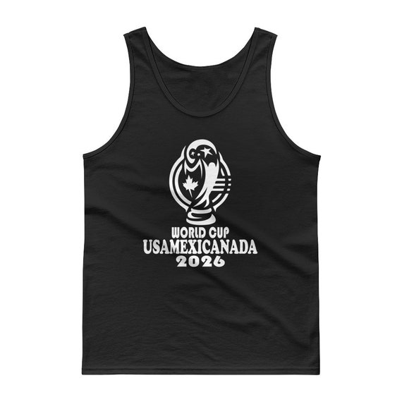 FIFA World Cup Canada White Adult Tank Top