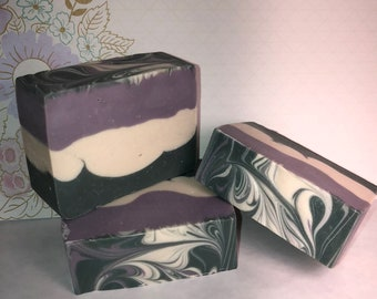 Lavender Sage Soap; Bath and Body; Handmade Soap