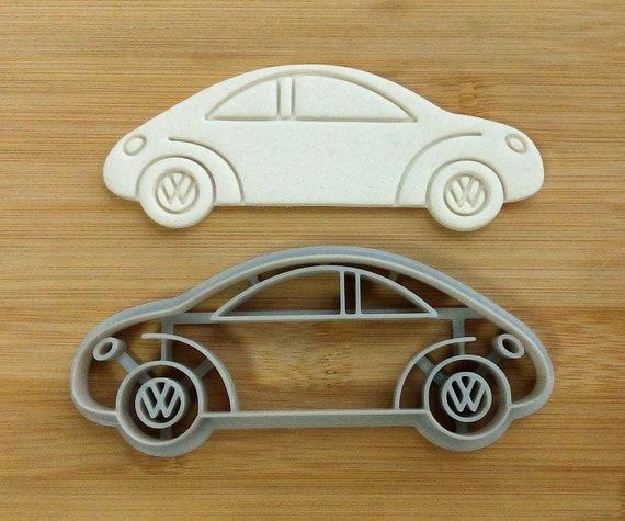 car volkswagen cookie cutter auto car baking supply etsy