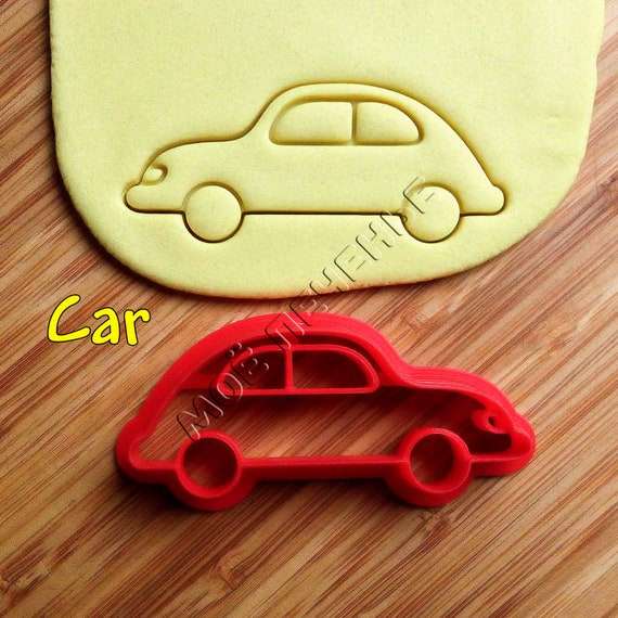 car cookie cutters set baking supply cookie cutter craft etsy