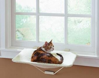 Patent Pending TabbyNapper™ Cat Window Perch Hammock