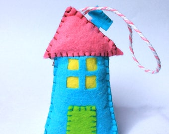 Felt House ornaments Decoration