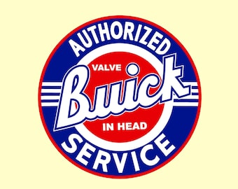 Buick Man Cave or Garage Banner