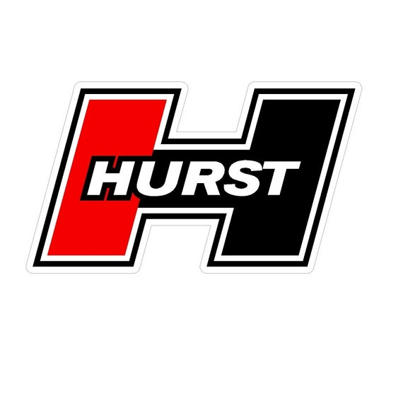 Lot of 2 Classic Hurst Racing Shifters Decals Stickers Rat Hot Rod NHRA