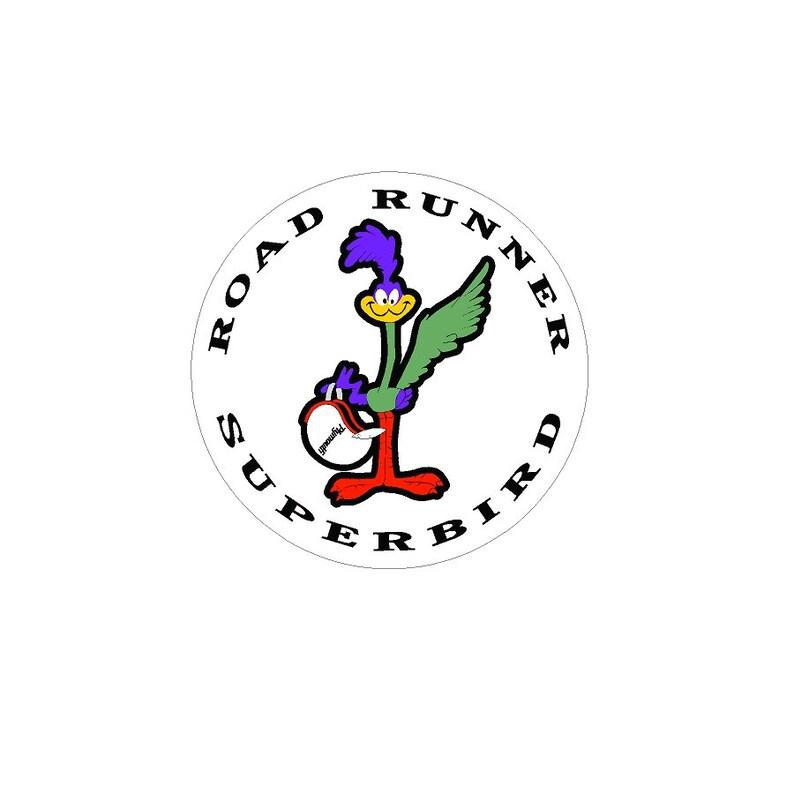 Road Runner Superbird Vintage Drag Racing sticker decal NHRA Rat Rod Street  Rod