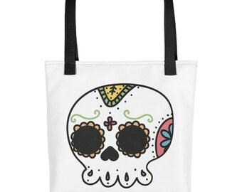 Day of the dead - Sugar skull - Tote bag
