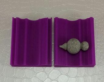 "Polymer Clay ""Goddess"" Bead Roller, Jewelry Making Tool, 1 1/2 Inch Unique Shape Bead Roller, Polymer Clay Artist Gift"