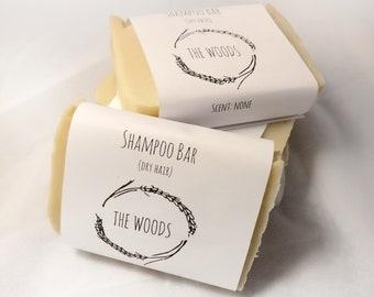 Shampoo Bar - cold process handmade natural soap