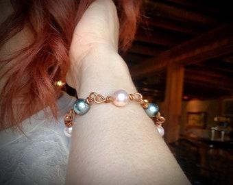 Beautiful copper bracelet One of  kind