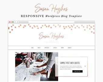 Susan - Responsive Wordpress Theme - Genesis Child Theme - Wordpress Blog Theme - Photography Theme – Instant Digital Download