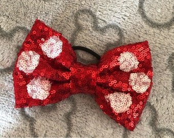 Classic Sequin Bow