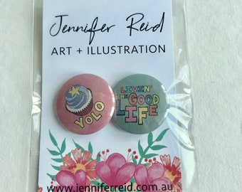 YOLO Small Button Pack