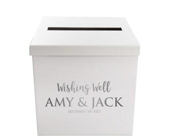 Personalised Wedding Wishing Well Box