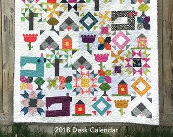 Inspiring Stitches 2018 Calendar