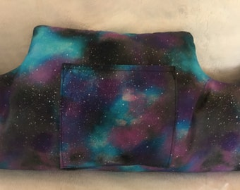 Breast Cancer Pillow/ Mastectomy Pillow/ Double Mastectomy Pillow/ Healing Pillow With Pocket For Phone/Galaxy and Stars