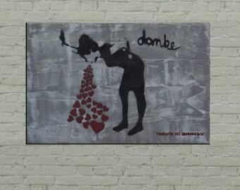 Concrete street art | Etsy