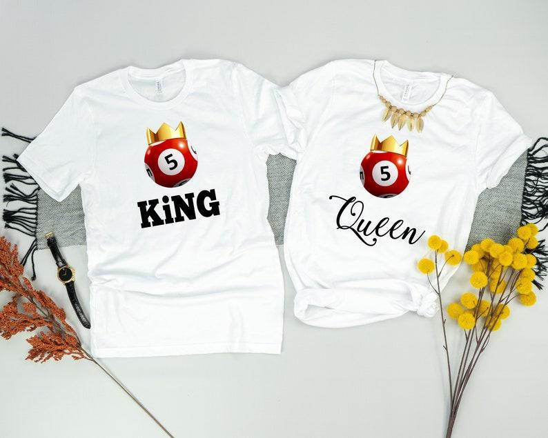 b07ade2e Bingo Shirt Couples Shirt Matching Shirts Bingo Player | Etsy