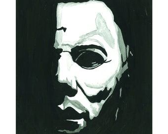 Michael Myers Drawing
