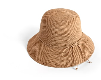 Paper Ribbon Bucket hat