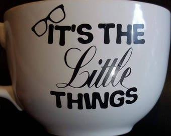 Soup mug- coffee cup- little things-