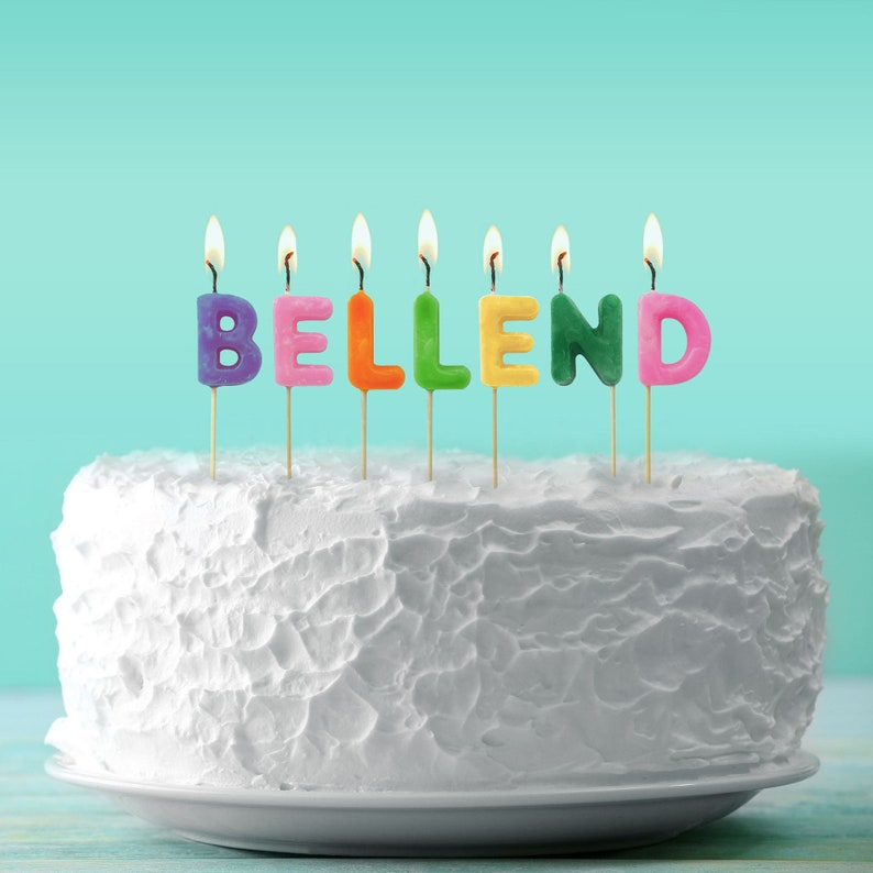 Bellend Birthday Candles Funny