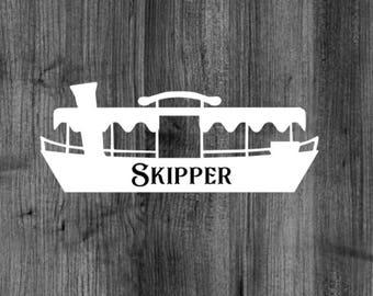 Jungle Cruise Skipper Decal