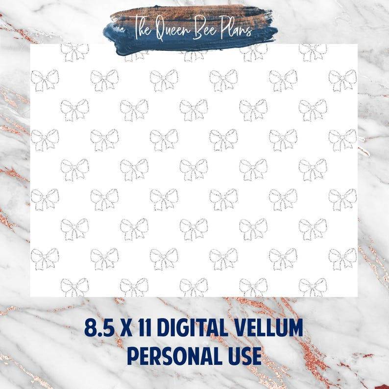 photograph relating to Printable Acetate titled SILVER BOWS Electronic Vellum, Acetate, Clear Printable Dashboard TN  Picture Vacationers Laptop, B6, A6, Rings, Pocket, Particular person