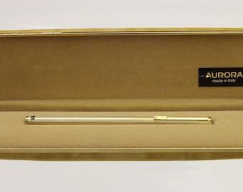 Vintage fountain pen Aurora Hastil 14k gold nib