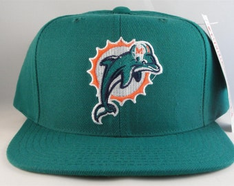 Miami Dolphins NFL Vintage Snapback Hat Cap American Needle Teal new with  tags efe70ce0d