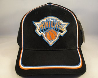 New York Knicks NBA Vintage Adjustable Strap Hat Cap American Needle Black  new with tags 6482ac2d0d2