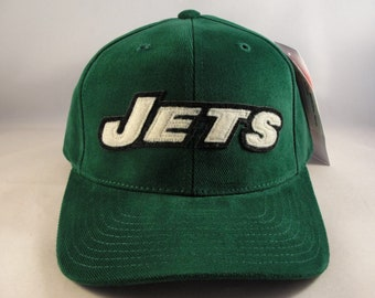83e1ebb1fd4 New York Jets NFL Vintage Strapback Hat Cap American Needle Green new with  tags