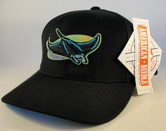 b2df2454802 Tampa Bay Devil Rays MLB Vintage Snapback Hat Cap American Needle new with  tags