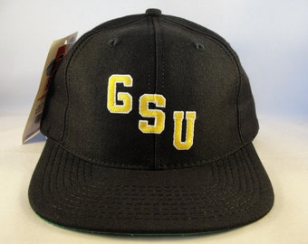 NCAA Grambling State Tigers GSU Vintage Snapback Hat Cap Sports Specialties  Black new with tags a99597ed1e4e