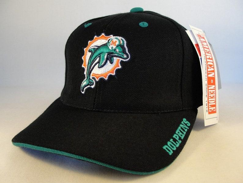 0c04051aa6b Miami Dolphins NFL Vintage Adjustable Strap Hat Cap American