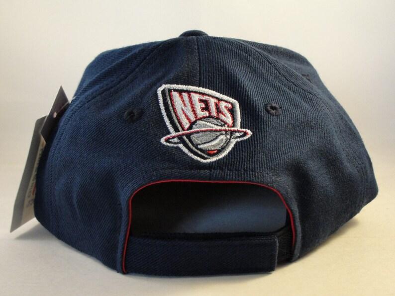 8e79c3d9ccf New Jersey Nets NBA Vintage Adjustable Strap Hat Cap American