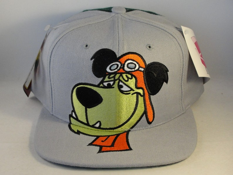328f81322 Muttley American Needle Toons Vintage Snapback Hat Cap Gray Green new with  tags