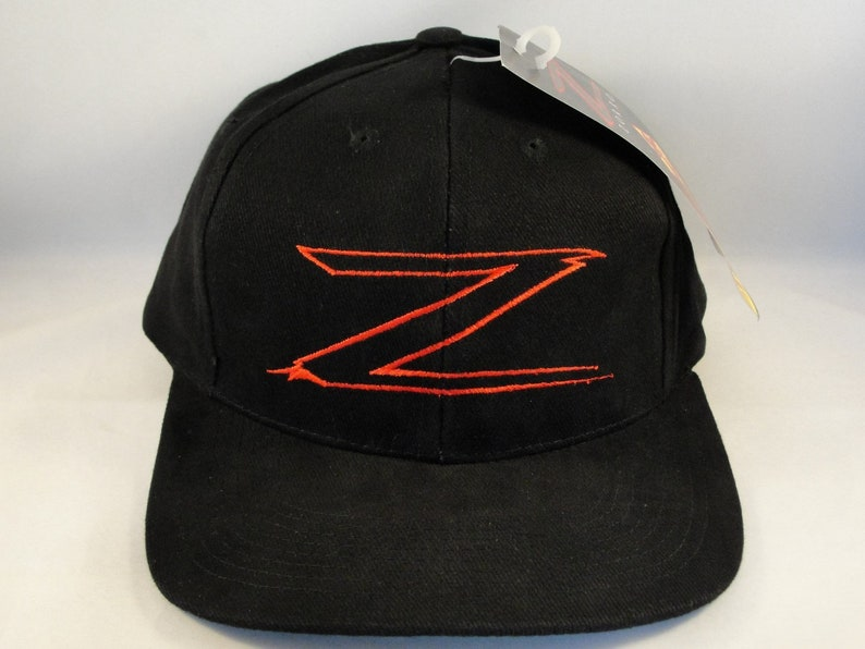 49e9cfdbe Zorro Z Vintage Snapback Hat Cap new with tags