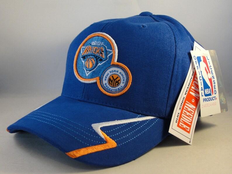 8266bf66e12 New York Knicks NBA Vintage Adjustable Strap Hat Cap American