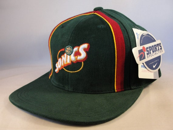 Seattle Supersonics NBA Vintage Snapback Hat Cap Sports  985403fa51b3