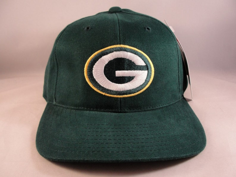 b3ae56d2 Green Bay Packers NFL Vintage Strapback Hat Cap American Needle Green new  with tags