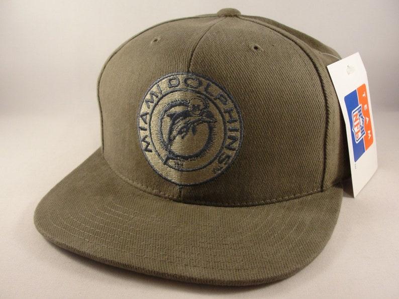 e42f18158fd Miami Dolphins NFL Vintage Strapback Hat Cap American Needle