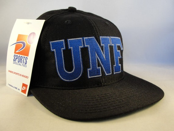 new style 84de6 a1b0e NCAA North Florida Ospreys UNF Vintage Snapback Hat Cap Sports   Etsy