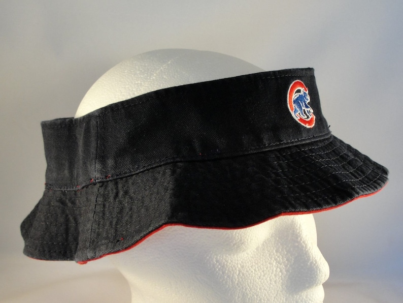 e015242d9 Chicago Cubs MLB Vintage Crownless Bucket Hat American Needle | Etsy