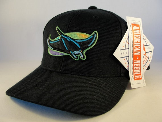 d634892de Tampa Bay Devil Rays MLB Vintage Snapback Hat Cap American Needle new with  tags